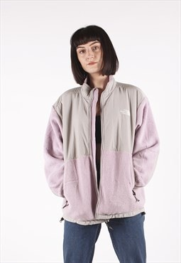 Vintage The North Face Lilac Grey Fleece Jacket /MM3305