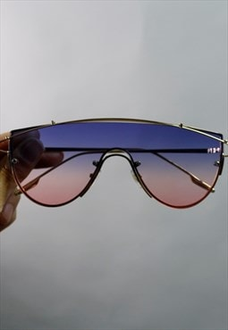 Gradient 2 tones sunglasses