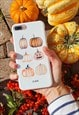 Personalised Pumpkin iPhone & Samsung phone case