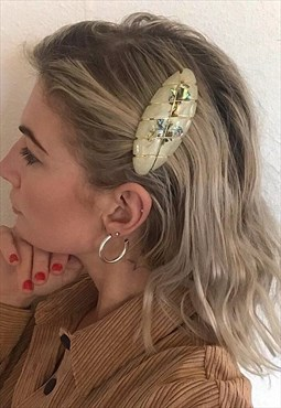 Mother Of Pearl hair barrette
