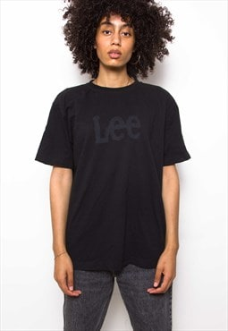 Vintage 90s Lee Black T-Shirt