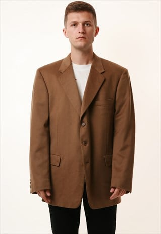 PURE CASHMERE VINTAGE CHESTER BARRIE GENEVE JACKET 16064