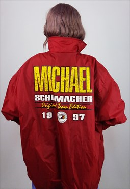 Vintage 1997 Michael Schumacher Racing Jacket Windbreaker