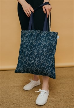 Denim Nuds Tote Bag
