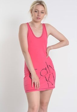 Vintage Calvin Klein CK Sports Dress Pink