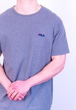 Vintage Fila T-Shirt in Grey
