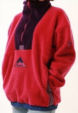 Made in Portugal Vintage HELLY HANSEN 1/4 ZIP Fleece 16033