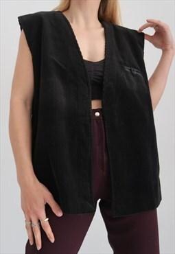 Donna corduroy vest