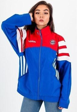 Vintage Adidas Bayern Munich Track Jacket J1302