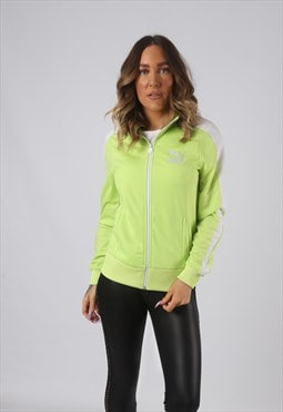 PUMA Track Top Jacket Fitted Neon Vintage UK 12 (DW4K)