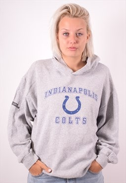 NFL Womens Vintage Indianapolis Colts Hoodie Sweater XXL 90s