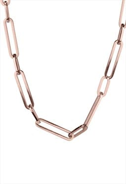 Short Link Chain, Rose Gold