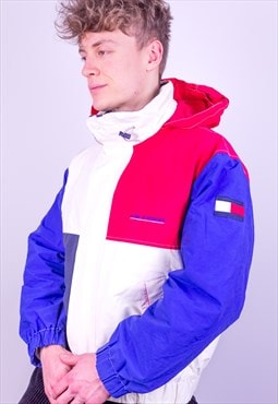 Vintage Tommy Hilfiger Jacket in Red, White & Blue