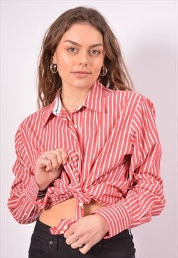 Vintage Tommy Hilfiger Shirt Stripes Red
