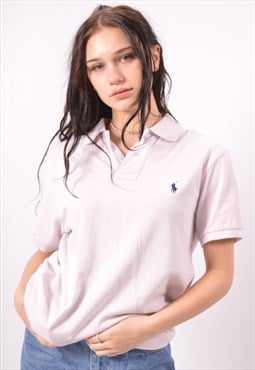 Vintage Polo Ralph Lauren Polo Shirt White