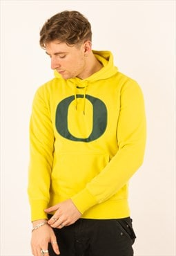 Vintage Yellow Nike NFL Oregon Ducks Hoodie Pullover