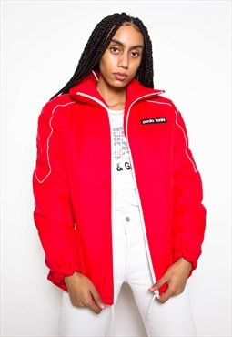 Vintage 90s Red Puffer Jacket ID:5156