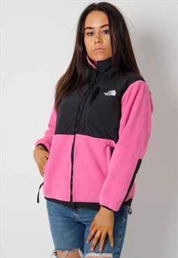 Vintage The North Face Fleece in Pink Small