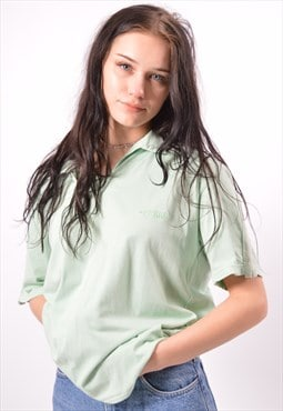 Vintage Ferre Polo Shirt Green