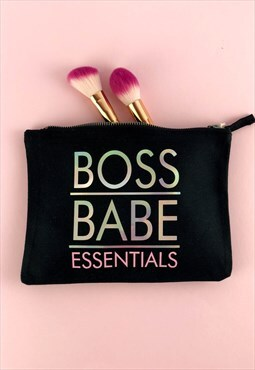 Boss Babe Make Up Bag