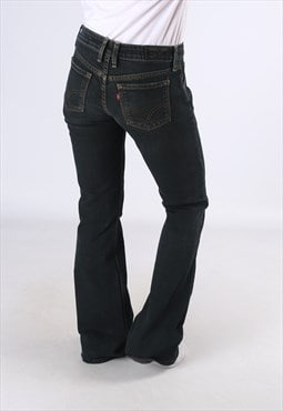 LEVIS 551 Flare Denim Jeans Flared Leg UK 10 (DC5J)
