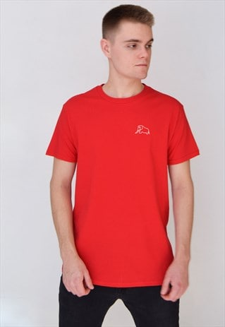 RED ELEPHANT (WHITE) T-SHIRT