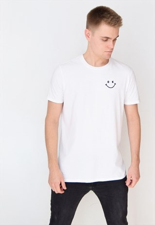 WHITE OK (NAVY) T-SHIRT