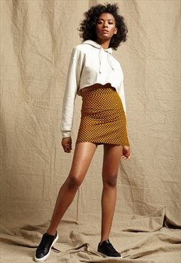Rachel Brown & Yellow African Print Skirt