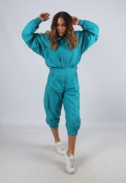 Vintage HEAD Full Tracksuit 90's Cropped Leg UK 8 - 10 (L2S)