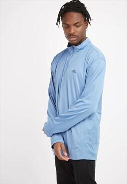 Vintage Blue Adidas 1/4 Zip