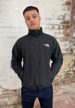 Vintage North Face Full Zip Sweatshirt - Black