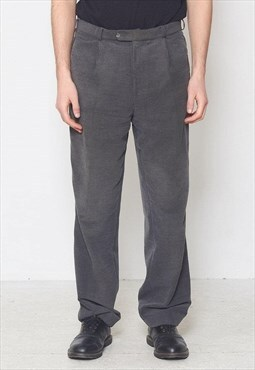 Vintage Grey WESTBURY Corduroy Trousers Bottoms