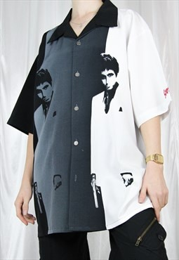 RARE vintage oversized official Scarface shirt merchandise