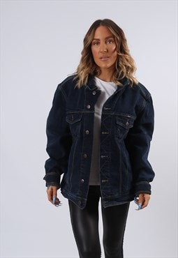 WRANGLER Denim Jacket Oversized Fitted UK 20 (G6AR)