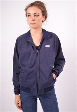 Vintage Umbro Tracksuit Top Jacket Navy Blue