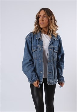 Denim Jacket ANGELO LITRICO Oversized Fitted UK 16 (B61A)
