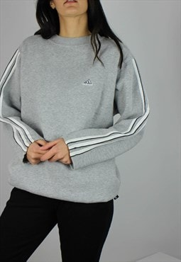 Vintage Adidas Sweatshirt with Logo & 3 Stripes