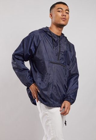 VINTAGE 1/4 ZIP WINDBREAKER JACKET
