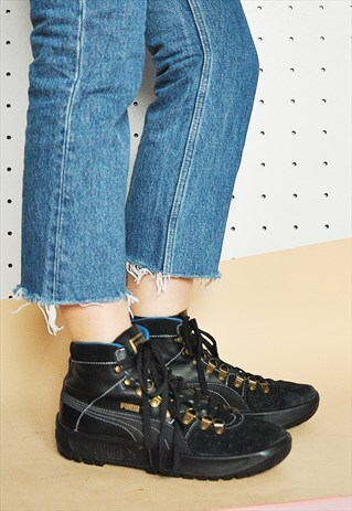 90S CHUNKY HIGH TOP SNEAKERS
