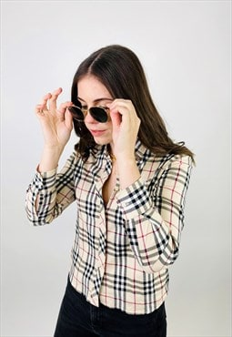 Burberry Nova Check Long sleeve Shirt