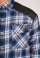 VINTAGE DICKIES FLANNEL SHIRT WORK CHORE STYLE