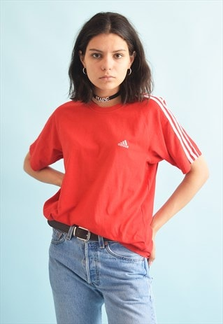 90'S RETRO ADIDAS ATHLEISURE SPORTS OVERSIZED T-SHIRT TOP