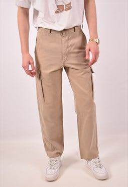 Vintage Avirex Cargo Trousers Beige