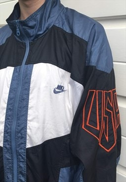 Mens Vintage 80s Nike jacket shell suit windbreaker coat