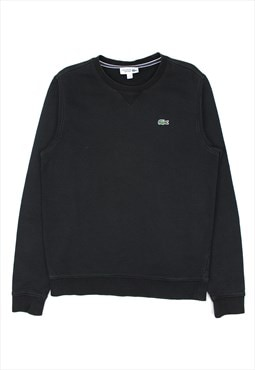 Black Lacoste sweatshirt