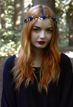 Floral Garland, Flower Garland, Festival Crown, Boho Hair