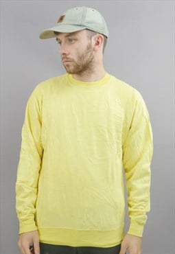 Vintage Sweatshirt in Yellow