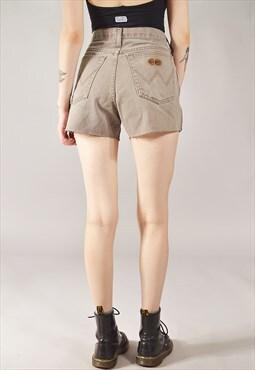 Vintage Wrangler Denim Shorts Grey