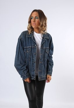 Denim Jacket McORVIS Oversized Fitted UK 18 - 20 (E4CH)