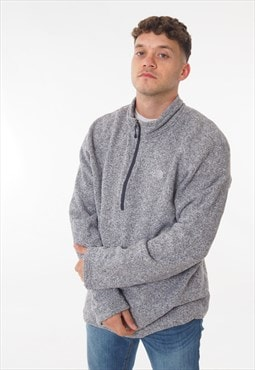 Vintage The North Face 1/4 Zip Sweatshirt Grey